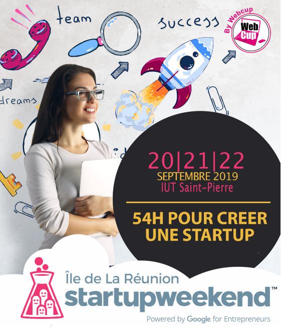 Ouverture des inscriptions pour le 14ème Startupweekend de la Réunion