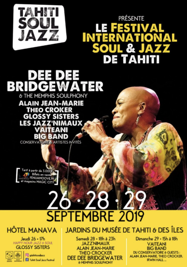 Tahiti accueille son premier festival de Soul & Jazz