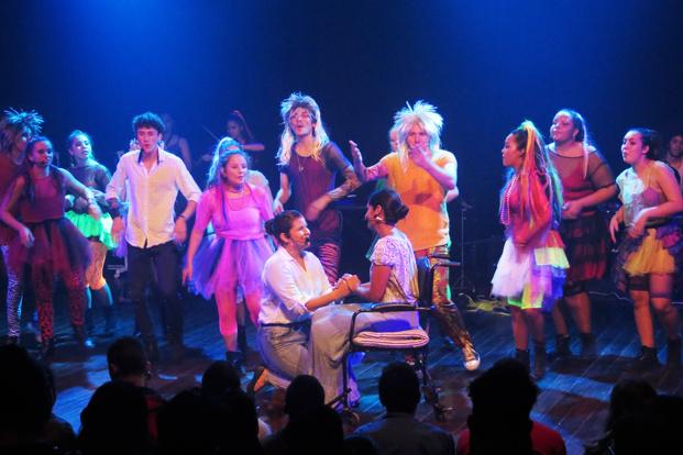 """La Comédie Musicale """"Au pied du Mur"""" en représentation le samedi 28 septembre au domaine du Moca de Saint Denis."""