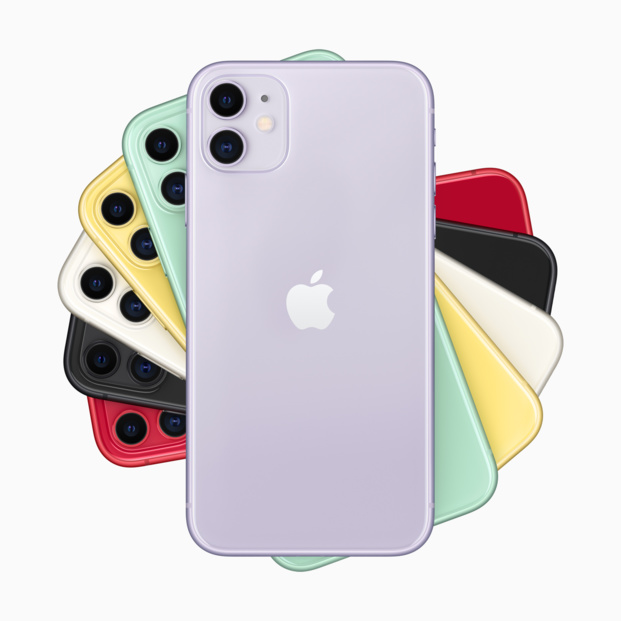 Les iPhone 11 d'Apple sont disponibles