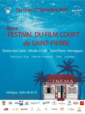La Réunion: Coup d'envoi aujourd'hui du 4ème Festival du Film Court de Saint-Pierre