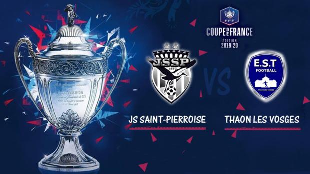 8ème tour de la Coupe de France - La JS Saint-Pierroise / Thaon les Vosges, ce dimanche en direct sur Réunion La 1ère