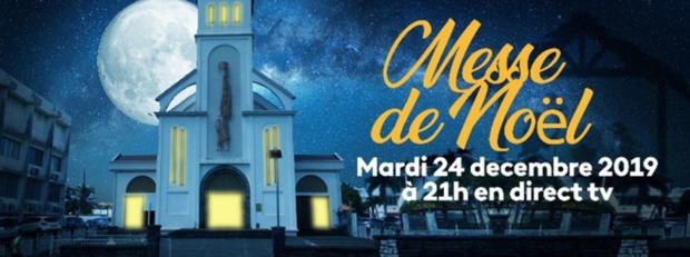 """Messe de Noël en l'église de Bellevue """"Coeur Immaculé de Marie"""" en direct sur La 1ère et France Ô"""