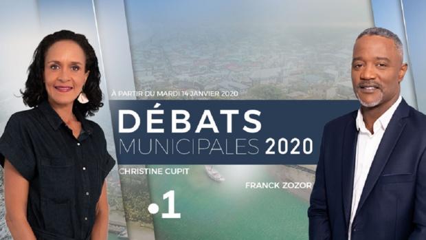 Municipales 2020: Martinique La 1ère propose une série de débats à partir du 14 janvier