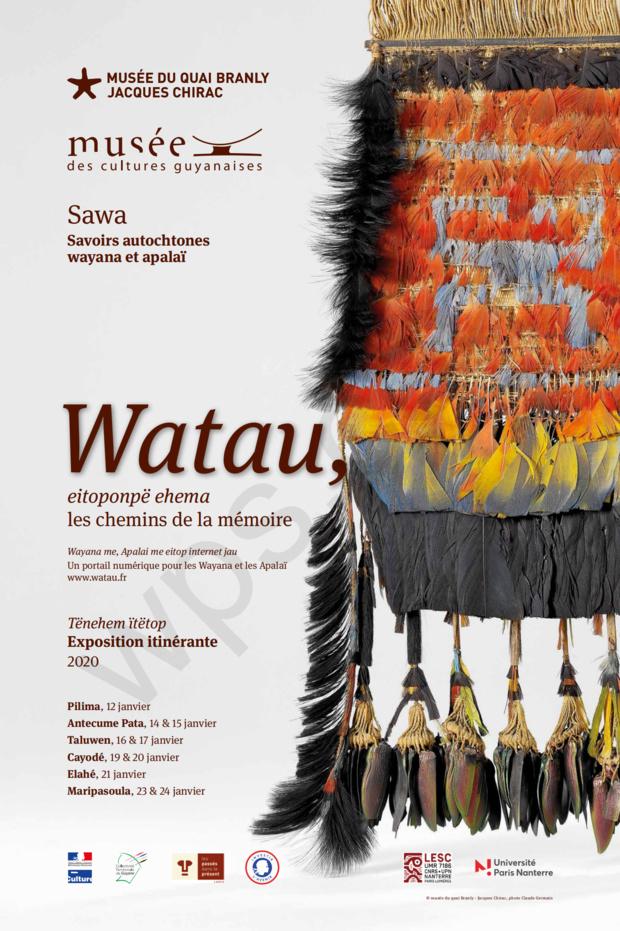 Le musée du quai Branly - Jacques Chirac en partenariat avec le musée des cultures guyanaises présentent une exposition itinérante en wayana et français du 12 au 24 janvier