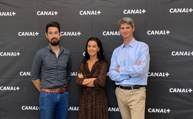 Sur la photo: Charles Lauret, Valérie Marianne et Axel Gallant © Megazap.fr