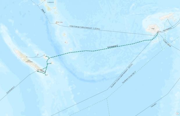 Sécurisation de l'Internet calédonien: l'OPT relance l'appel d'offres pour un second câble sous-marin pour secourir Gondwana-1 et développer une offre d'accès internationale