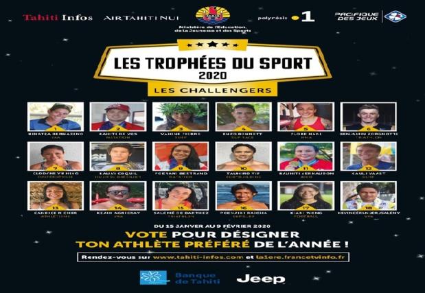 La 6e cérémonie des Trophées du Sport en direct de la Maison de la Culture le 13 février sur Polynésie La 1ère