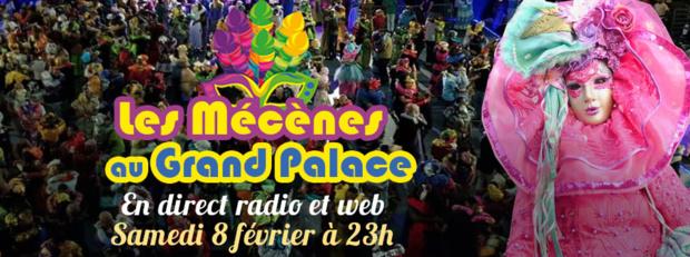 Guyane La 1ère: Les Mécènes au Grand Palace, ce samedi en direct radio et web dés 23h00