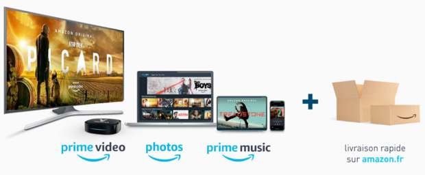 PRIME VIDEO disponible sur les box TV 4K VIDEOFUTUR