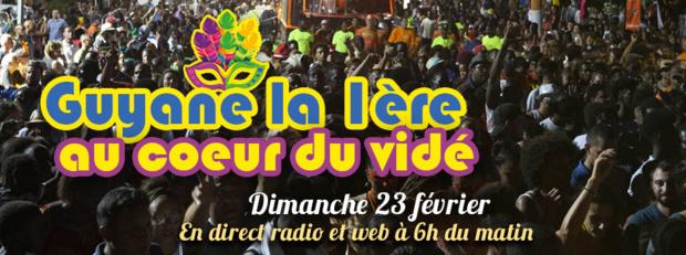 Carnaval 2020: Guyane La 1ère au coeur du vidé ce dimanche en direct radio et web
