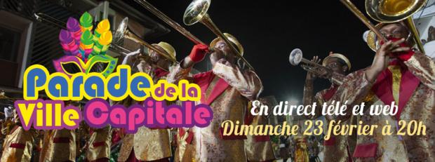 Carnaval 2020: La Parade de la Ville Capitale en direct ce dimanche sur Guyane La 1ère TV et Web
