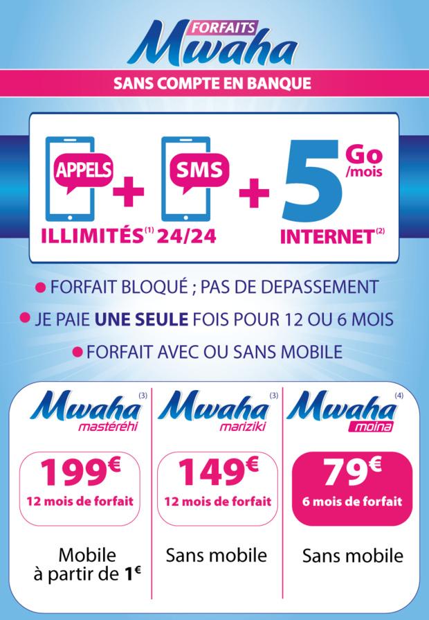 Mayotte: Only lance les nouveaux forfaits mobile MARAHABA et MWAHA