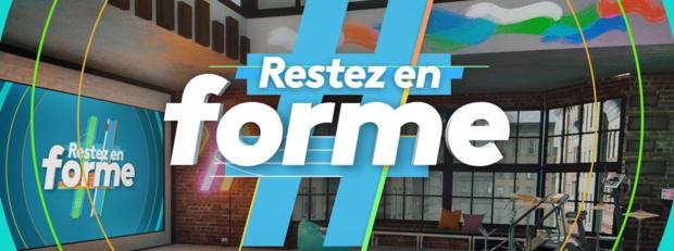 #RestezEnForme: France Télévisions lance dés lundi une émission pour faire du sport à la maison
