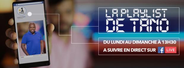 Tano dévoile sa playlist chaque jour sur l'antenne web de Guyane La 1ère