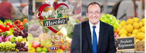 """Le marché de Saint-Pierre (Réunion) et celui de Sainte-Marie (Martinique) en lice pour l'opération """"Coup de coeur pour nos marchés"""" du 13h de TF1"""