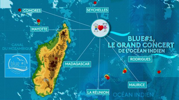 Blue #1, le grand concert de l'Océan Indien
