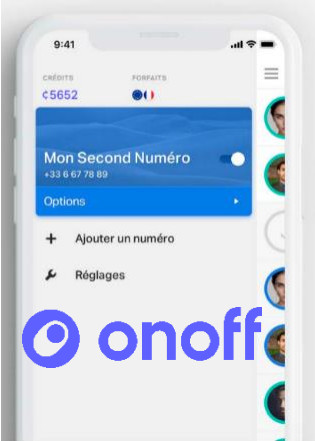 Bouygues Telecom lance l'option Onoff, pour disposer d'un second numéro de téléphone mobile