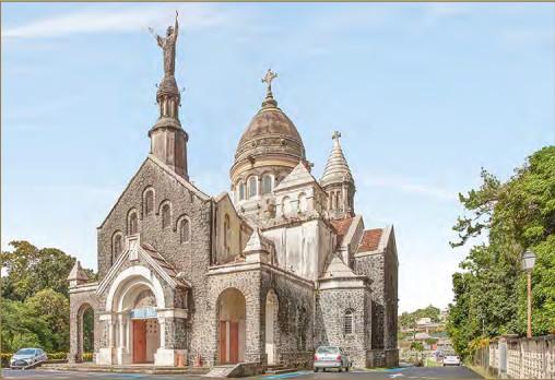 Eglise du Sacré-Cœur de Balata © OCUS - Fondation du patrimoine