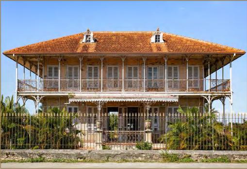 Habitation Zévallos au Moule © OCUS - Fondation du patrimoine
