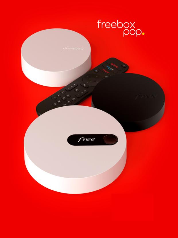 Free lève le voile sur la Freebox Pop, simplifie ses offres Freebox et enrichit les offres de ses abonnés actuels