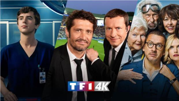 Le groupe TF1 crée une nouvelle offre 4K