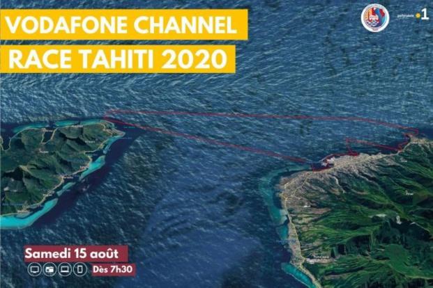 La première édition de la Vodafone Channel Race Tahiti en direct le samedi 15 août sur les trois antennes de Polynésie La 1ère