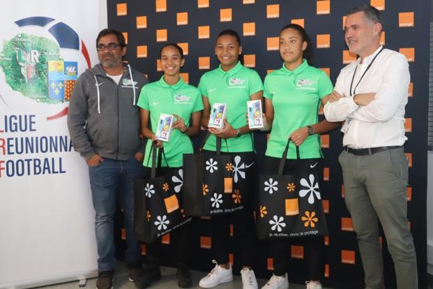 Orange s'engage auprès de la ligue Réunionnaise de football en faveur du Football Féminin à la Réunion