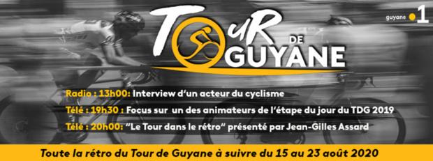 Spéciale Rétro du Tour de Guyane du 15 au 23 août sur les antennes de Guyane la 1ère