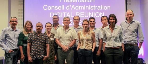 Conseil d'administration de Digital Reunion
