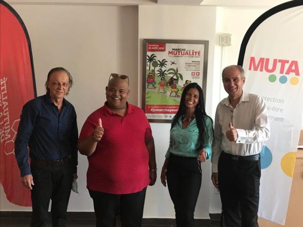 La Réunion: Une marche de la Mutualité 100% Connectée