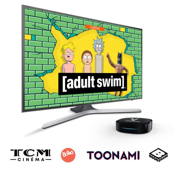 Les chaînes et services du groupe WarnerMedia (Boing, TCM Cinema, Boomerang...) débarquent dans l'offre VideoFutur