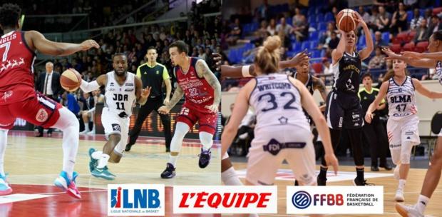 Le basket français débarque en force sur la Chaîne L'Equipe