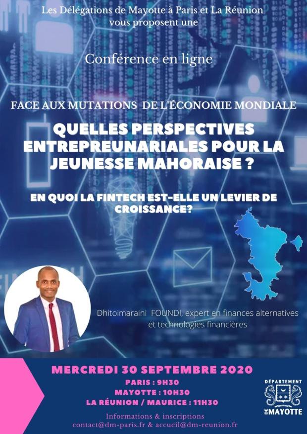 Les délégations de Mayotte organisent un Webinaire sur la Fintech