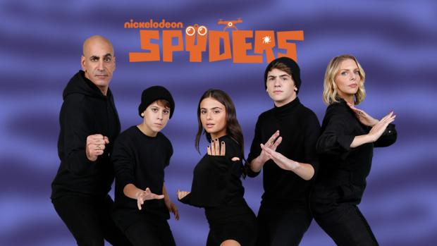 """""""Spyders: Apprentis espions"""" la nouvelle série de Nickelodeon Teen à découvrir à partir du 16 novembre"""