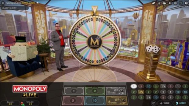 Le classique Monopoly accessible en live sur Internet