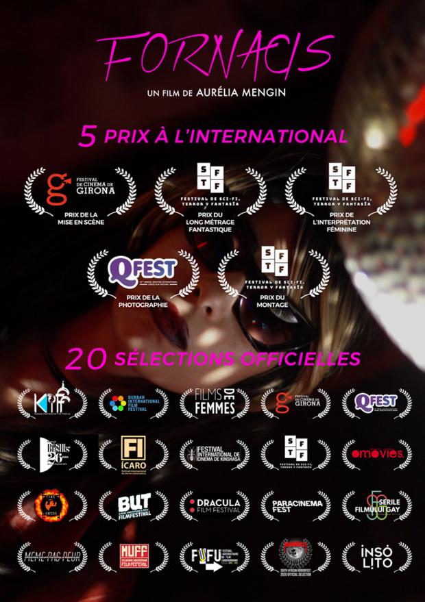 20ème Sélection Officielle pour FORNACIS, premier long-métrage d'Aurelia Mengin au Festival International de Cinéma de Kinshasa au Congo
