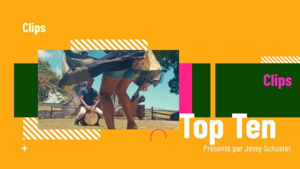 TOP TEN, le nouveau magazine musical de Guadeloupe La 1ère. Coup d'envoi ce samedi !