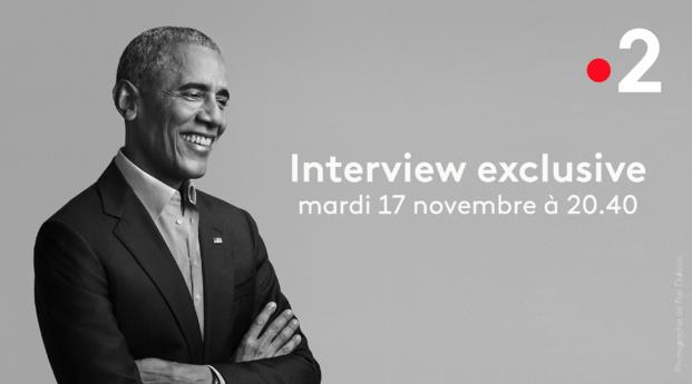 Barack Obama choisit France 2 pour un entretien exclusif qui sera diffusé ce mardi soir, à l'occasion de la sortie mondiale de ses mémoires