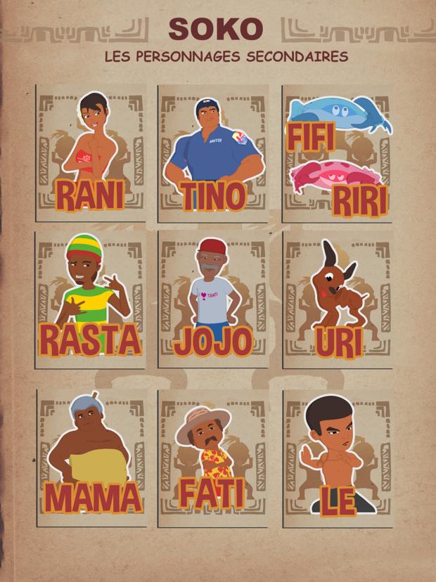 SOKO, la série animée made in Fenua, en décembre en quotidienne sur Polynésie La 1ère