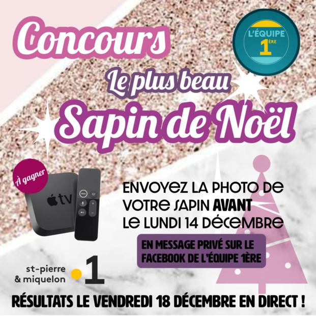 Saint-Pierre et Miquelon la 1ère: L'équipe 1ère lance son concours du plus beau sapin de Noël