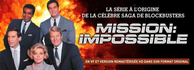 Mission Impossible: Les 7 saisons de la série culte dés le 4 janvier en VF et version remastérisée HD sur Paramount Channel