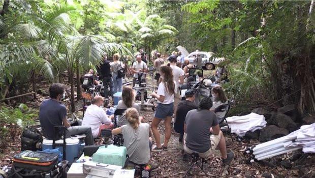 IRREDUCTIBLE: Jérôme Commandeur en tournage à La Réunion