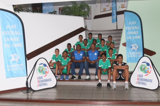 Un début de vacances sportif pour les lauréats de la Danone Nations Cup