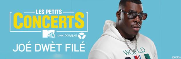 """""""Les Petits Concerts MTV"""" en janvier avec Joé Dwèt Filé"""