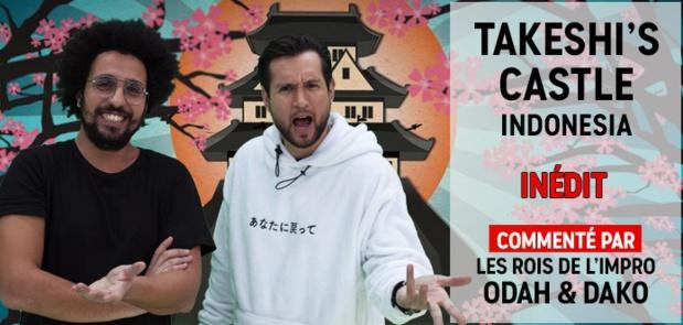 TAKESHI'S CASTLE INDONESIA avec Odah & Dako dès le 23 janvier sur Comedy Central