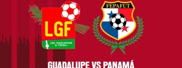 Match de football: Guadeloupe / Panama, vendredi 22 janvier sur les trois antenne de Guadeloupe La 1ère