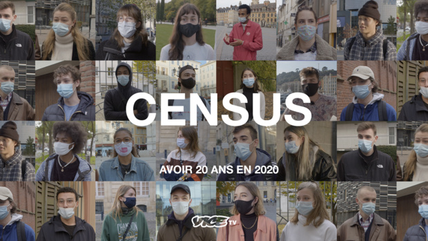 """""""Avoir 20 ans en 2020"""" : La 3eme saison de """"Census"""" débarque à partir du 25 janvier sur VICE TV"""