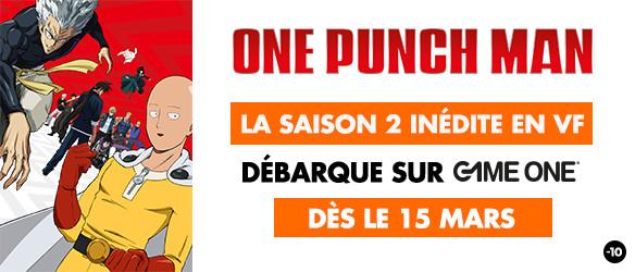ONE PUNCH MAN : la saison 2 inédite en VF dès le 15 mars en exclusivité sur Game One