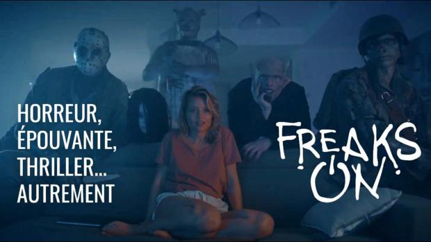 Coup de projecteur sur Freaks ON, la plateforme SVOD dédiée au thriller, à l'épouvante et à l'horreur